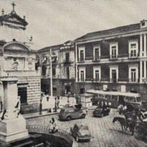 Piazza Municipio prima del 1959