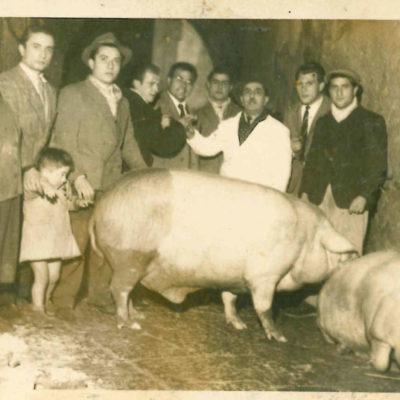 foto storica salumi fezza